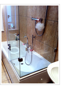 Frameless Shower Screens, Frameless Shower Enclosures, Quadrant ...